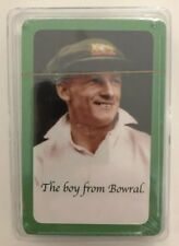 DON BRADMAN Playing Cards .. Complete Set .. Unopened .. The Boy From Bowral
