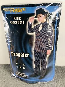 Kids Halloween Gangster Costume, New in Package, Size Medium