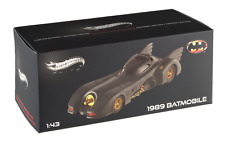 Hot Wheels Elite 1989 Batmobile Limited Edition 1:43 Scale