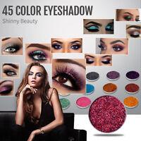 45Colors Women Mixed Glitter Powder Eyeshadow Eyes Pigment Loose Charming Eyes