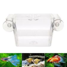 1 Pc Fish Tank Guppy Breeding Breeder Trap Box Nursery Hatchery Supplies New FI