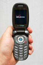 LG VX8300 Verizon Wireless Cell Flip Phone BLACK 28mb Camera Bluetooth vCast -C-