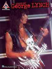 BEST OF GEORGE LYNCH - DOKKEN GUITAR TAB SONG BOOK NEW