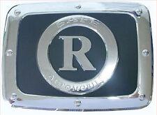 Chrome Fuel Gas Cap Cover Emblem For 01 10 Ssangyong Rexton