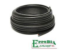 CAVO ELETTRICO MULTIPOLARE PVC NERO 2X1,5 BIPOLARE BLU MARRONE PREZZO X 1 METRO