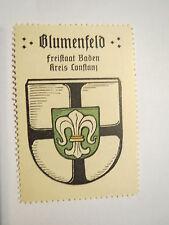 Blumenfeld / Reklamemarke Kaffee Hag - Wappen