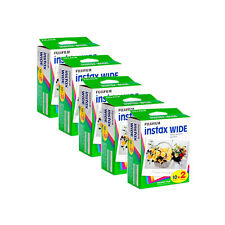 Fuji Instax Wide Film for 200 210 and 300 Instant Cameras - 100 Prints FRESH