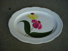 Stetson Summertime Oval Plate/Platter Heritage Ware  USA Pottery