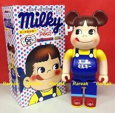 Medicom Be@rbrick 2016 Fujiya Peko Milky 400% 65th Anniversary Bearbrick 1pc