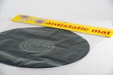Plattentellerauflage Antistatic Turntable Slipmat black Strobo