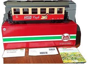 Spur G LGB 32733, Vierachsiger Personenwagen - HSB Cafe