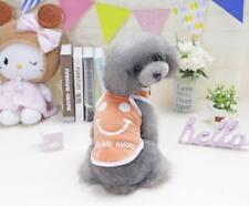 NEW Small Dog Cat Pet Love Mum Clothes Pupply Vest Lace Dress Shirt Apparel
