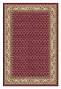Burgundy Red Traditional Classic Oriental Wool Small Rug Mat 60x110cm 50%OFF RRP