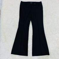 THE LIMITED Womens Sz 8R Black Wide Leg Drew Fit Career Dress Pants