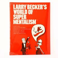 BRAND NEW BOOK - Larry Beckers - World Of Super Mentalism (Book)