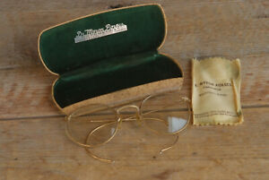 Vintage Ful-Vue American Optical 1/10 12K Gold Filled Eyeglasses Pocatello Idaho