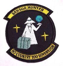 "Mad Magazine Spy vs Spy Sensor Hunter 4"" Embroidered Patch- FREE S&H (MIPA-SvS)"