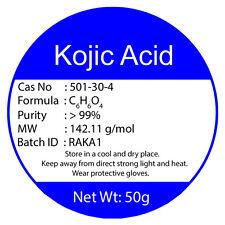 100% PURE KOJIC ACID POWDER 50g Buy2 Get3 Add To Any Cream For Skin Whitening