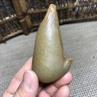 120g  Bonsai Suiseki-Natural Gobi Agate Eyes Stone-Rare Stunning Viewing 7265
