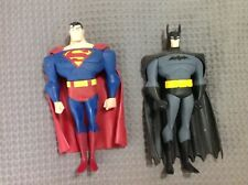 Batman & Superman Animated Series Large Figures Used