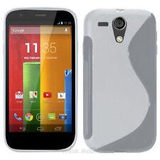 Housses et coques anti-chocs transparents Motorola Moto G pour téléphone mobile et assistant personnel (PDA)
