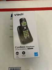 Vtech DECT 6.0 Cordless Phone with Caller ID/Call Waiting - Black cs6114-11 NEW