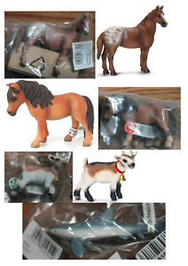 Schleich Animals Farm Or Wild Choice 13720, 13731, 14380, 14820, 14822