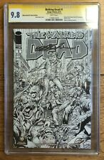 The Walking Dead #1 Wizard World Comic-Con NYC Variant  CGC SS 9.8