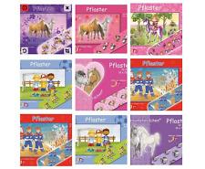 10 x Pflaster Kinderpflaster Pflasterbriefchen  -  Pferde  Fußball Prinzessin