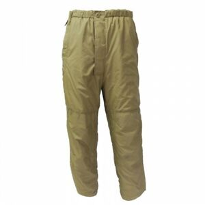British Army PCS Thermal Trousers MTP Warm Fishing Cold Weather Olive Insulated