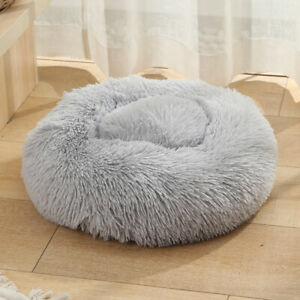 Donut Plush Pet Bed for Dog and Cat--- Medium Size 20Inches Round