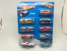 HOT WHEELS-9 PACK-TORINO,GOLF,BMW,RIVIERA,HEMI-PLUS MORE-2013-SEALED ON CARD