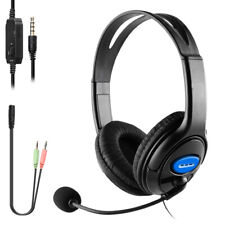 For PS4 Gaming Headset Xbox One Headphone PC Earphone 3.5mm with Mic
