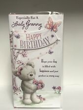 Especially For A Lovely Granny Birthday Greeting Card