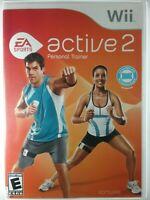 Nintendo Wii EA Sports Active 2 Personal Trainer Game Only