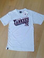 Ligue majeure de New York Yankee Baseball T Shirt Jersey Majestic Athletic. S. BNWT