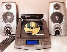 UNITED DESIGN / MICRO SYSTEM HIFI - TIROIR MOTORISE -  CD/TUNER/HORLOGE/TIMER/EQ