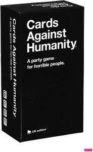 Brand New Cards Against Humanity UK Edition 2.0 Version 600 Card Full Set Game