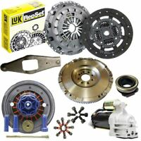 FLYWHEEL WITH LUK CLUTCH, STARTER MOTOR AND BOLTS FOR A FORD TRANSIT BOX 2.4 DI