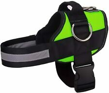 PugLife Pug Life Dog No-Pull Pet Harness 3 Side Rings Green All Breeds Medium