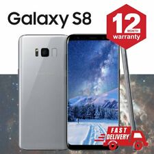 SAMSUNG GALAXY S8 64GB Android Cellulare Sbloccato 4G SIM Argento