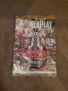 Powerplay Magazine The Official Magazine of the NHL March/April 99' Satan Card