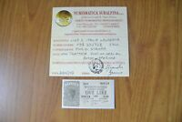 BANCONOTA LIRE 2 ITALIA LAUREATA 1944 certificata FDS SUBALPINA