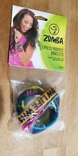 Zumba Express Yourself Bracelets 6 Pack - 100% Silicone (Latex Free) - Exercise