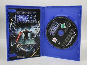 Sony Playstation 2 PS2 PAL OVP Star Wars the Force Unleashed CD neuwertig