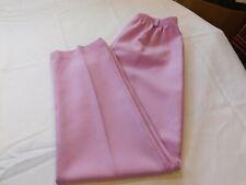 Womens ladies Comfort Connection long slacks Pants 11-12 Petite purple/pink GUC*