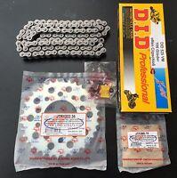 DID 525 VM Kettensatz Honda XBR 500, XBR500, PC15, 15-36-106, Kettenkit, neu