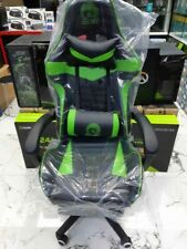 Chair gaming green Used