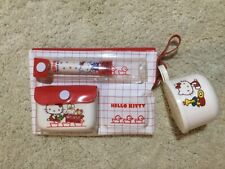 Vintage rare 1976 Sanrio Hello Kitty wash up kit