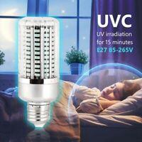 Lampada UV Disinfezione Germicida LED UVC E27 Lampadina Disinfezione Ozono  Y7P3